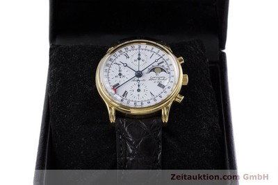 CHRONOSWISS A. ROCHAT CHRONOGRAPH GOLD-PLATED AUTOMATIC KAL. ETA 7750 [153050]