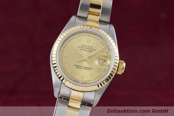 ROLEX LADY DATEJUST STEEL / GOLD AUTOMATIC KAL. 2135 LP: 6950EUR [153052]