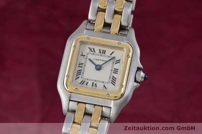 CARTIER PANTHERE ACIER / OR QUARTZ KAL. 157 [153053]