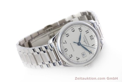 LONGINES LADY MASTER COLLECTION AUTOMATIK DAMENUHR L2.257.4 GLASBODEN NP: 1350,- [153060]