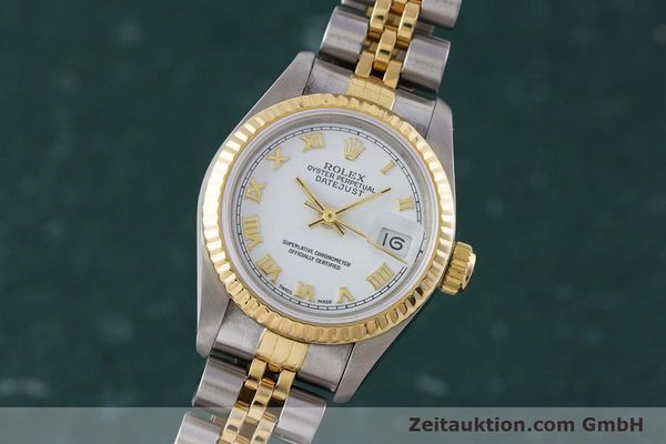 ROLEX LADY DATEJUST STEEL / GOLD AUTOMATIC KAL. 2135 LP: 6950EUR [153064]