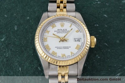 ROLEX LADY OYSTER DATEJUST GOLD /STAHL DAMENUHR AUTOMATIK 69173 VP: 6950,- EURO [153064]