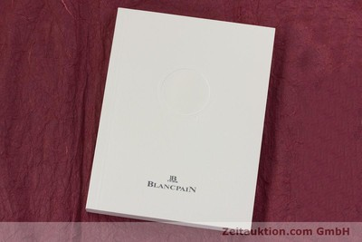BLANCPAIN VILLERET STEEL MANUAL WINDING KAL. 65 LP: 8610EUR [153067]