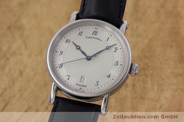 CHRONOSWISS KAIROS ACIER AUTOMATIQUE KAL. ETA 2892-2 LP: 3700EUR [153096]