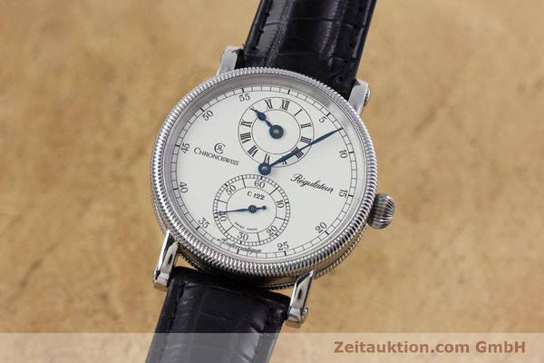 CHRONOSWISS REGULATEUR AUTOMATIK HERREN MEDIUM CH1223M GLASBODEN VP: 5200,- Euro [153097]