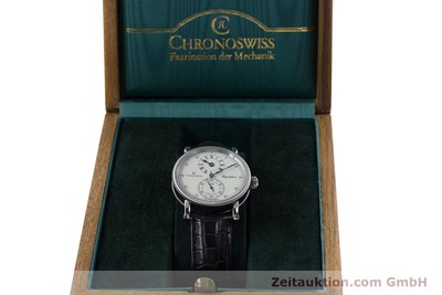 CHRONOSWISS REGULATEUR STEEL AUTOMATIC KAL. 122 LP: 5200EUR [153097]