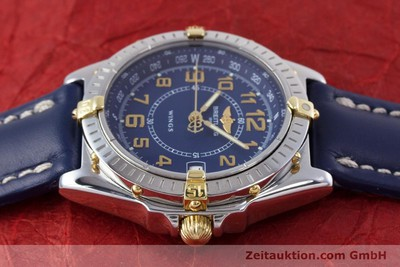 BREITLING WINGS STEEL / GOLD QUARTZ KAL. B66 ETA 955122 LP: 2470EUR [153106]