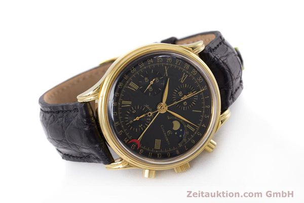 Used luxury watch Chronoswiss A. Rochat chronograph gold-plated automatic Kal. Valj.  7750 Ref. 77990  | 153112 03