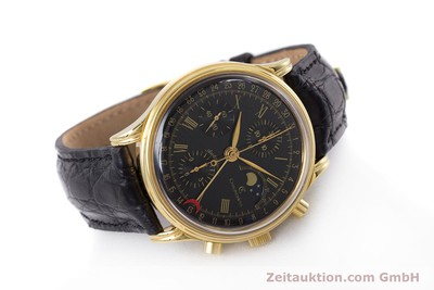 CHRONOSWISS A. ROCHAT CHRONOGRAPH GOLD-PLATED AUTOMATIC KAL. VALJ. 7750 [153112]