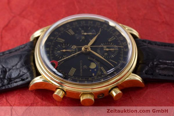 Used luxury watch Chronoswiss A. Rochat chronograph gold-plated automatic Kal. Valj.  7750 Ref. 77990  | 153112 05