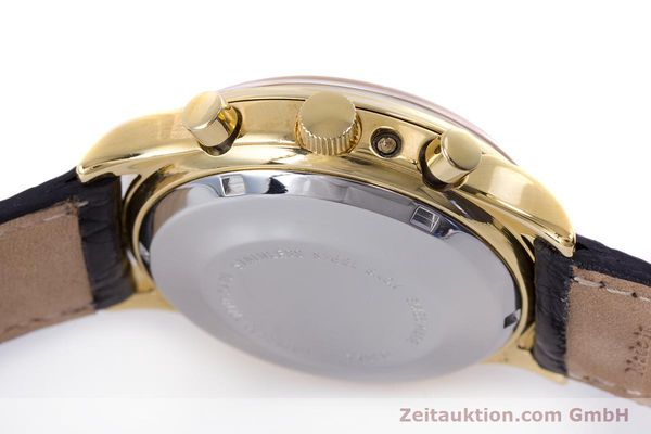 Used luxury watch Chronoswiss A. Rochat chronograph gold-plated automatic Kal. Valj.  7750 Ref. 77990  | 153112 08