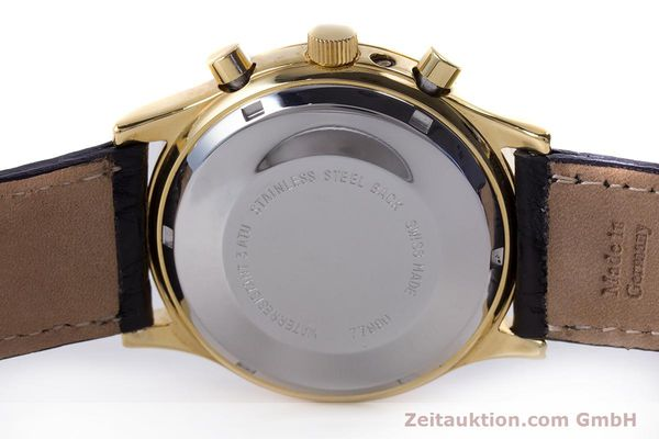 Used luxury watch Chronoswiss A. Rochat chronograph gold-plated automatic Kal. Valj.  7750 Ref. 77990  | 153112 09