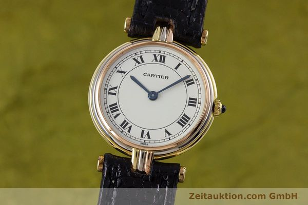 CARTIER ORO 18 CT QUARZO KAL. 81 [153120]