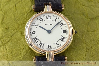CARTIER 18 CT GOLD QUARTZ KAL. 81 [153120]
