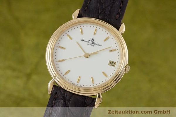 BAUME & MERCIER OR 18 CT QUARTZ KAL. BM11295 ETA 255.111 [153121]