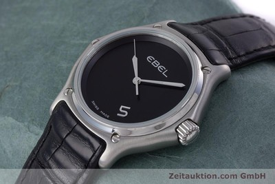EBEL 1911 STEEL QUARTZ KAL. 187-2 LP: 2100EUR [153122]