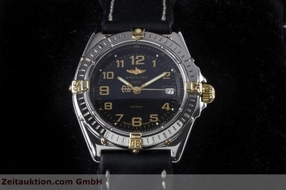 BREITLING WINGS STEEL / GOLD QUARTZ KAL. B67 ETA 956612 LP: 2910EUR [153125]