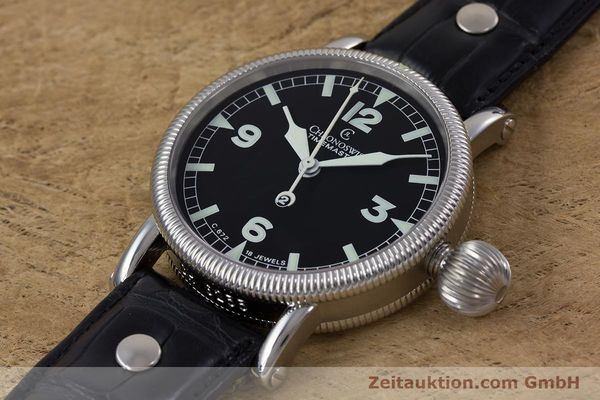 Used luxury watch Chronoswiss Timemaster steel manual winding Kal. 672 Ref. CH2633  | 153132 01