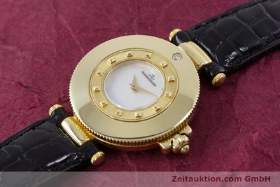 JAEGER LE COULTRE RENDEZ-VOUS 18 CT GOLD QUARTZ KAL. 601 LP: 10400EUR [153147]