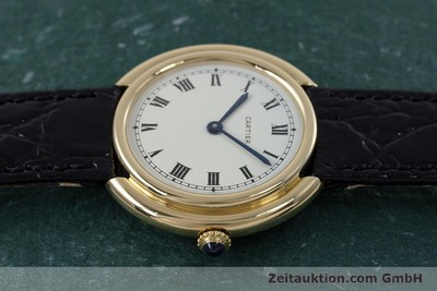 CARTIER VENDOME 18 CT GOLD AUTOMATIC KAL. ETA 2670 LP: 14600EUR [153148]