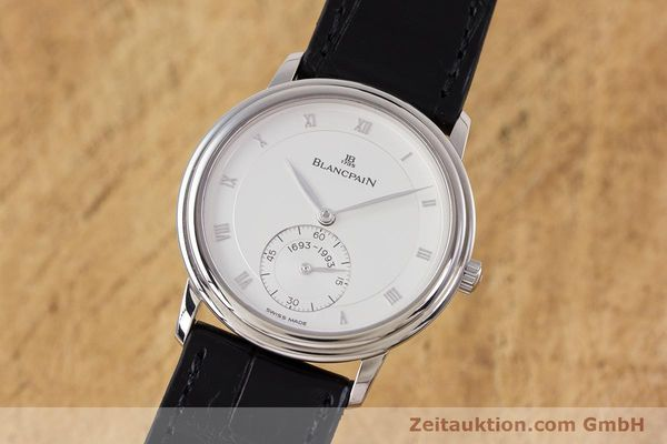 BLANCPAIN VILLERET 18 CT WHITE GOLD MANUAL WINDING KAL. 64-1 F. PIGUET LP: 10910EUR  [153150]