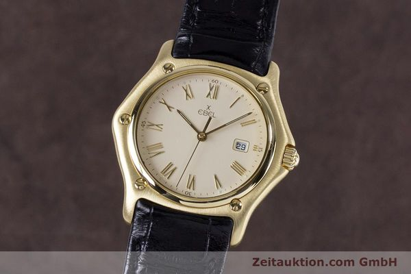 EBEL 1911 18 CT GOLD QUARTZ KAL. 87 LP: 7250EUR [153151]