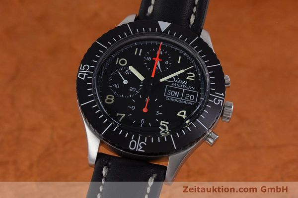 SINN MILITARY CHRONOGRAPH STEEL AUTOMATIC KAL. 5100  [153154]