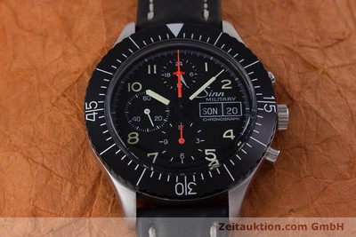 SINN 156 MILITARY FLIEGER CHRONOGRAPH DAY-DATE AUTOMATIK HERRENUHR LEMANIA 5100 [153154]