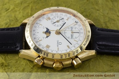 OMEGA SPEEDMASTER CHRONOGRAPH 18 CT GOLD AUTOMATIC KAL. 1150 VAL. 7751 LP: 14200EUR [153162]