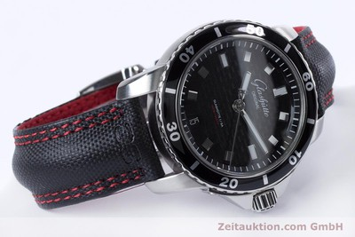 GLASHÜTTE SPORT EVOLUTION STEEL AUTOMATIC KAL. GUB 39 LP: 7300EUR [153163]