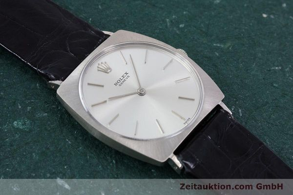 Used luxury watch Rolex * 18 ct white gold manual winding Kal. 1600 Ref. 3714 VINTAGE  | 153168 15