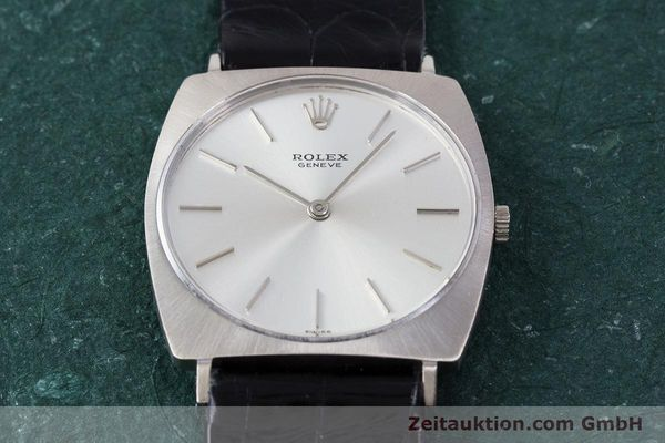 Used luxury watch Rolex * 18 ct white gold manual winding Kal. 1600 Ref. 3714 VINTAGE  | 153168 16