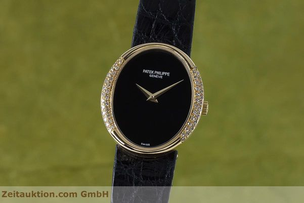 PATEK PHILIPPE ELLIPSE 18 CT GOLD MANUAL WINDING KAL. 16-250 LP: 24790EUR  [153169]