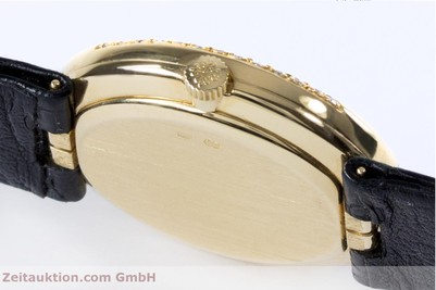 PATEK PHILIPPE LADY 18K GOLD ELLIPSE HANDAUFZUG DAMENUHR DIAMANTEN VP: 24790,- Euro [153169]