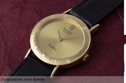 ROLEX CELLINI OR 18 CT REMONTAGE MANUEL KAL. 1601 LP: 4300EUR [153172]