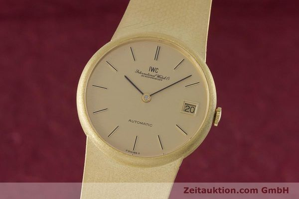IWC PORTOFINO OR 18 CT AUTOMATIQUE KAL. A 3252 / 900 LP: 10700EUR [153174]