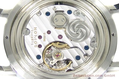 NOMOS TANGENTE SPORT STEEL MANUAL WINDING KAL. ALPHA LP: 1420EUR [153175]