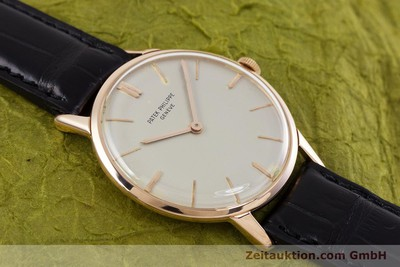PATEK PHILIPPE CALATRAVA 18 CT RED GOLD MANUAL WINDING KAL. 23-300 [153177]