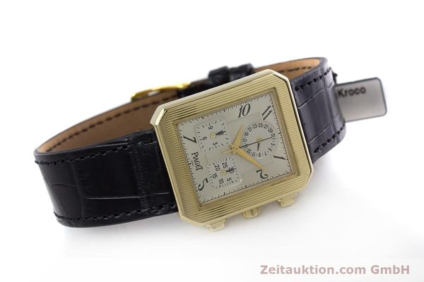 Used luxury watch Piaget Protocol chronograph 18 ct gold quartz Kal. 212P Ref. 14254  | 153181 03