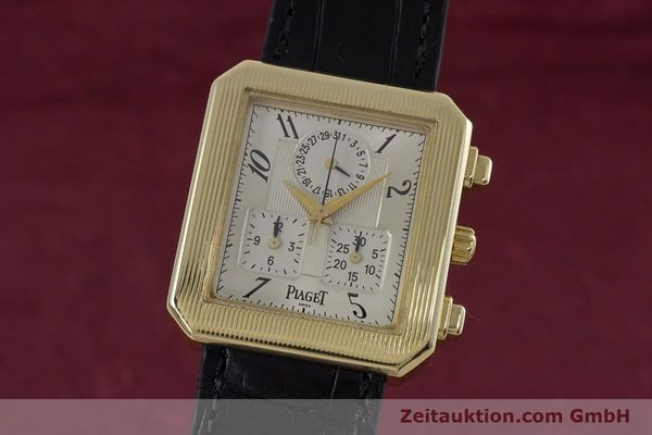 PIAGET PROTOCOL CHRONOGRAPHE OR 18 CT QUARTZ KAL. 212P LP: 30300EUR  [153181]