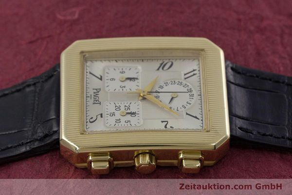 Used luxury watch Piaget Protocol chronograph 18 ct gold quartz Kal. 212P Ref. 14254  | 153181 05
