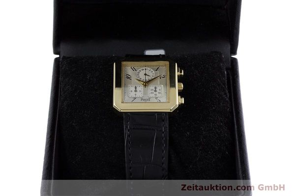 Used luxury watch Piaget Protocol chronograph 18 ct gold quartz Kal. 212P Ref. 14254  | 153181 07