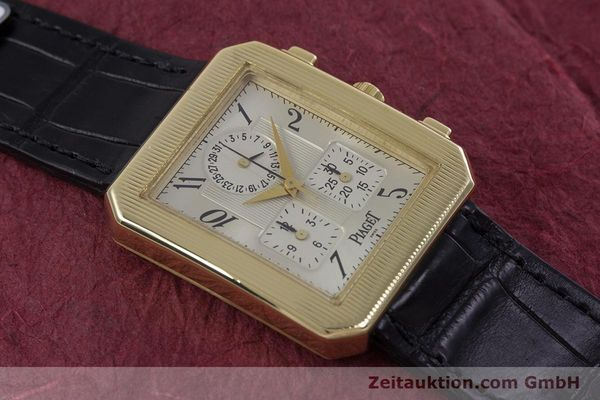 Used luxury watch Piaget Protocol chronograph 18 ct gold quartz Kal. 212P Ref. 14254  | 153181 12