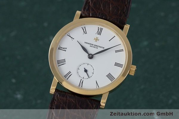VACHERON & CONSTANTIN 18 CT GOLD MANUAL WINDING KAL. 1014/1 [153184]