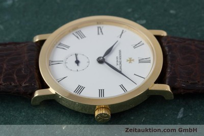 VACHERON CONSTANTIN 18K (0,750) GOLD HERRENUHR MEDIUM HANDAUFZUG VP: 18500,- Euro [153184]