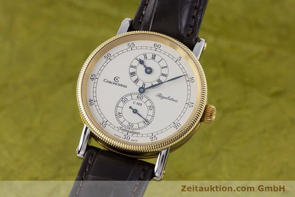 CHRONOSWISS REGULATEUR ACIER / OR  AUTOMATIQUE KAL. 122 LP: 5200EUR  [153191]