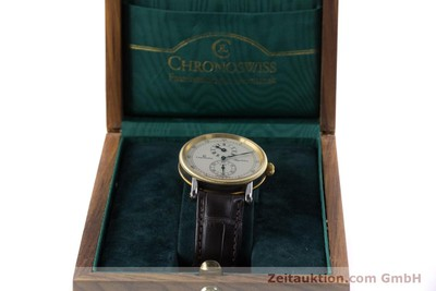CHRONOSWISS REGULATEUR EDELSTAHL / GOLD AUTOMATIK CH1222 GLASBODEN VP: 5200,- Euro [153191]