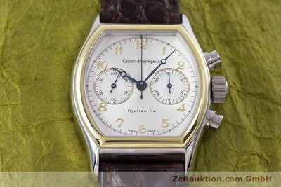 GIRARD PERREGAUX RICHEVILLE STEEL / GOLD MANUAL WINDING KAL. LWO 1872 LP: 11500EUR [153195]