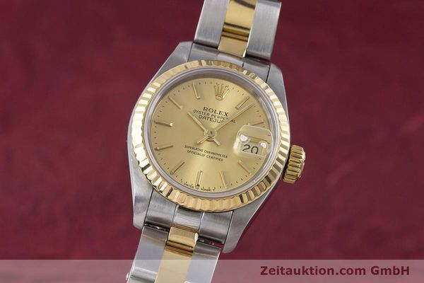 ROLEX LADY DATEJUST STEEL / GOLD AUTOMATIC KAL. 2135 LP: 6950EUR [153196]