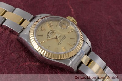 ROLEX LADY OYSTER DATEJUST GOLD /STAHL DAMENUHR AUTOMATIK 69173 VP: 6950,- EURO [153196]